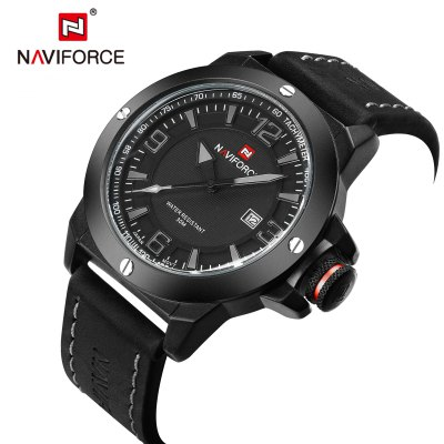 NAVIFORCE NF9077 Casual Men Quartz Watch