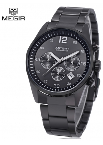 MEGIR 2010 Men Quartz Watch Date Function