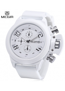 MEGIR 2002 Male Quartz Watch Date Function
