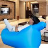 cheap Ultralight Inflatable Lazy Sofa with Pillow Beach Chair for Leisure Activities