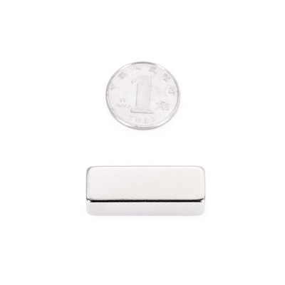 30 x 10 x 10mm N52 Powerful NdFeB Square Magnet for Kid