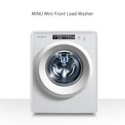 Mini Front Load Washing Machine Low Noise Operation Electric Washer