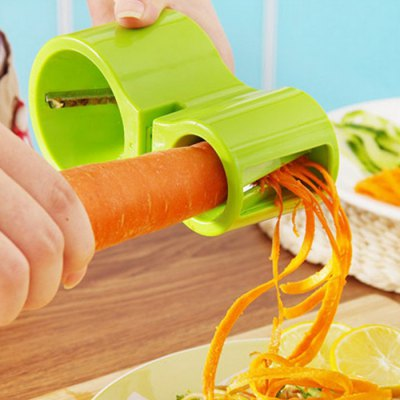 Vegetable Spiral Cutter with Knife Sharpener