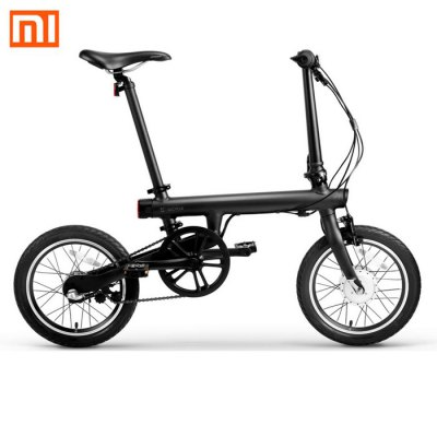 Original Xiaomi QiCYCLE - EF1 Smart BicycleElectric Bikes<br>Original Xiaomi QiCYCLE - EF1 Smart Bicycle<br><br>Brand: Xiaomi<br>Color: Black,White<br>Frame material: Aluminum Alloy<br>Package Content: 1 x Xiaomi Smart Folding Bike, 1 x Charger in Chinese Norm, 1 x Open-end Wrench, 1 x Allen Wrench<br>Package size: 132.50 x 26.50 x 66.50 cm / 52.17 x 10.43 x 26.18 inches<br>Package weight: 20.530 kg<br>Product weight: 14.500 kg<br>Type: Folding Bicycle<br>Wheel Size: 16 inches