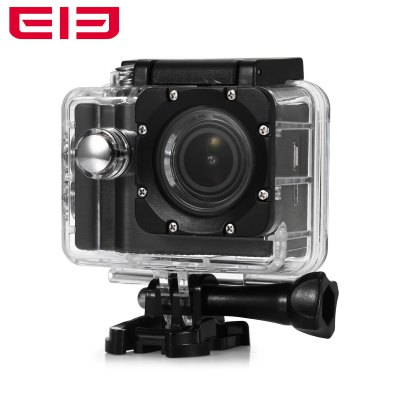 Elephone Explorer Pro 4K 12MP WiFi Action CameraAction Cameras<br>Elephone Explorer Pro 4K 12MP WiFi Action Camera<br><br>Brand: Elephone<br>Model: Explorer Pro<br>Type: Sports Camera<br>Chipset Name: Novatek<br>Chipset: Novatek 96660<br>Max External Card Supported: TF 64G (not included)<br>Class Rating Requirements: Class 6 or Above<br>Screen size: 2.0inch<br>Screen type: TFT<br>Battery Type: Removable<br>Capacity: 1050mAh<br>Power Supply: 5V 1A<br>Charge way: USB charge by PC<br>Working Time: About 90min at 1080P 60fps<br>Camera Pixel : 12MP<br>ISO: Auto,ISO100,ISO200,ISO400<br>Video format: MP4<br>Video Resolution: 1080P (1920 x 1080),2K(2560 x 1440)30fps,4K (2880 x 2160),720P (1280 x 720),QVGA (320 x 240),VGA (640 x 480),WVGA(800 x 480)<br>Video System: NTSC,PAL<br>Video Output : HDMI<br>Image Format : JPEG<br>Exposure Compensation: +1,+1/3,+2,+4/3,+5/3,-1,-1/3,-2,-2/3,-4/3,-5/3,0,2/3<br>White Balance Mode: Auto,Cloudy,Daylight,Fluorescent,Tungsten<br>WIFI: Yes<br>WiFi Function: Remote Control<br>WiFi Distance : 15m<br>Waterproof: Yes<br>Waterproof Rating : IP68<br>Water Resistant: 30m<br>Loop-cycle Recording : Yes<br>Loop-cycle Recording Time: 10min,3min,5min,OFF<br>Motion Detection: Yes<br>HDMI Output: Yes<br>WDR: Yes<br>USB Function: PC-Camera,USB-Disk<br>Time Stamp: Yes<br>Interface Type: HDMI,Mini USB,TF Card Slot<br>Language: Deutsch,English,French,Italian,Japanese,Polski,Portuguese,Russian,Simplified Chinese,Spanish,Traditional Chinese<br>Frequency: 50Hz,60Hz<br>Product weight: 0.064 kg<br>Package weight: 0.760 kg<br>Product size (L x W x H): 2.90 x 5.90 x 4.10 cm / 1.14 x 2.32 x 1.61 inches<br>Package size (L x W x H): 24.00 x 11.00 x 8.50 cm / 9.45 x 4.33 x 3.35 inches<br>Package Contents: 1 x Elephone Explorer Pro 4K Action Camera + Waterproof Housing + Base + Screw, 1 x Remote Controller, 1 x Backpack Clip, 1 x Bike Handlebar Mount, 1 x Long Connector + Short Screw, 2 x Short Connecto