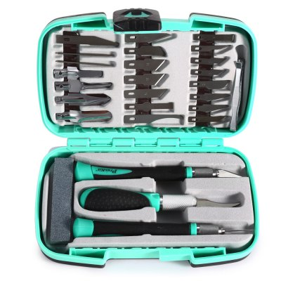 Proskit PD - 395A 30PCS Multifunctional Graver Knife Hand Tool