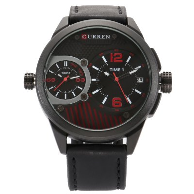 CURREN 8249 Business Men Quartz Watch