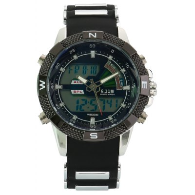 6.11 8156A Men Sports Digital Quartz Watch