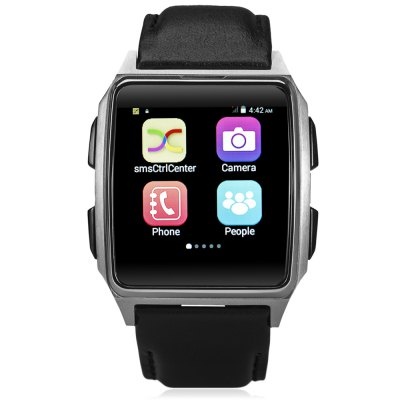 X2 1.54 inch Android 4.4 3G Smartwatch Phone