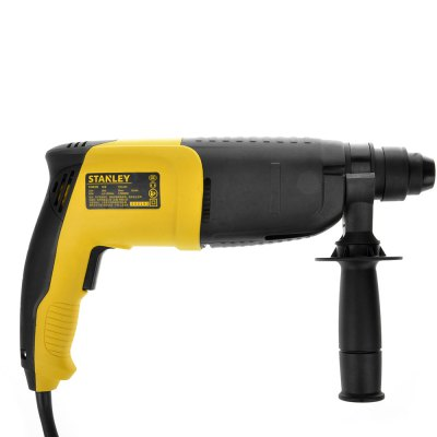 STANLEY STHR202K - A9 20mm 620W SDS+ Rotary HammerPower Drill<br>STANLEY STHR202K - A9 20mm 620W SDS+ Rotary Hammer<br><br>Brand: STANLEY<br>Material: Chrome Tangsten Steel<br>Model: STHR202K - A9<br>Package Contents: 1 x Rotary Hammer, 1 x Collet, 1 x Bilingual Manual in Chinese and English<br>Package size (L x W x H): 41.50 x 27.00 x 11.50 cm / 16.34 x 10.63 x 4.53 inches<br>Package weight: 4.220 kg<br>Product size (L x W x H): 33.00 x 20.50 x 8.00 cm / 12.99 x 8.07 x 3.15 inches<br>Product weight: 2.831 kg<br>Special function: 20mm 620W Rotary Hammer Electric Drilling Tool<br>Type: Electric Tool