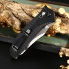 Ganzo G710 Portable Axis Locking Foldable Camping Hunting Knife 440C Stainless Steel Blade deal