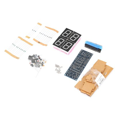 SZ - 0001 DIY Digital Light Control Desk Clock Kit