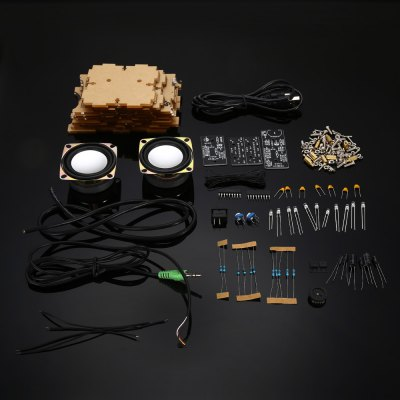 Electronic Sound Box Kit for DIY ProjectKits<br>Electronic Sound Box Kit for DIY Project<br><br>Package Contents: 1 x Sound Box Kit<br>Package Size(L x W x H): 18.00 x 15.00 x 8.00 cm / 7.09 x 5.91 x 3.15 inches<br>Package weight: 0.630 kg<br>Product weight: 0.540 kg<br>Suitable for: Arduino