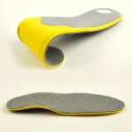 Breathable Shock Resistant Massage Insoles deal
