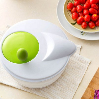 SUMSHUN Vegetable Fruit Strainer with Rotatable Handle