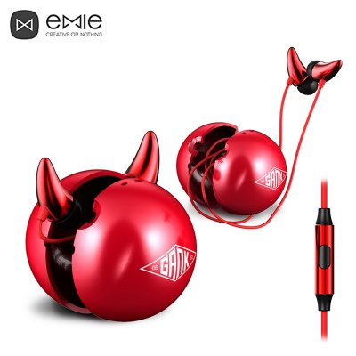 EMIE ME01 - C HiFi Music In-ear Earphones with Mic