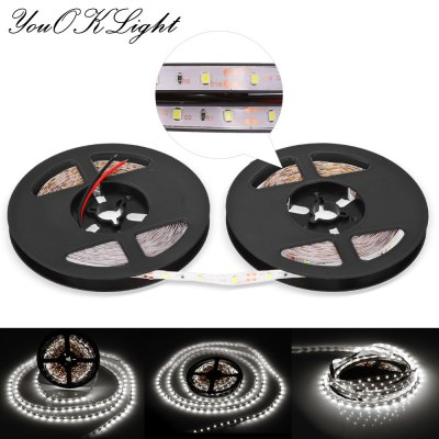 YouOKLight Flexible LED Light StripLED Strips<br>YouOKLight Flexible LED Light Strip<br><br>Actual Lumens: 4000LM<br>Brand: YouOKLight<br>CCT/Wavelength: 3000-3500K,6000-6500K<br>Connector Type: Wired<br>Features: Flexible<br>Input Voltage: DC12<br>LED Type: SMD-3528<br>Length: 10m<br>Material: PVC<br>Number of LEDs: 600<br>Optional Light Color: Warm White,White<br>Package Contents: 1 x YouOkLight LED Strip Light<br>Package size (L x W x H): 17.50 x 18.50 x 1.20 cm / 6.89 x 7.28 x 0.47 inches<br>Package weight: 0.0900 kg<br>Product size (L x W x H): 1,000.00 x 0.80 x 0.20 cm / 0.39 x 0.31 x 0.08 inches<br>Product weight: 0.0670 kg<br>Rated Power (W): 50W<br>SMD: 3528<br>Type: LED Strip