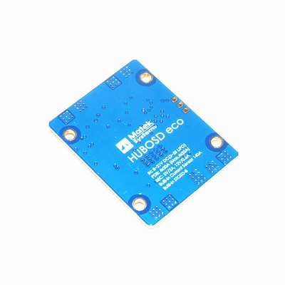 Matek Systems HUBOSD eco H-Type PDBMulti Rotor Parts<br>Matek Systems HUBOSD eco H-Type PDB<br><br>Brand: Matek<br>Package Contents: 1 x PDB<br>Package size (L x W x H): 6.00 x 4.00 x 5.00 cm / 2.36 x 1.57 x 1.97 inches<br>Package weight: 0.010 kg<br>Product size (L x W x H): 4.60 x 3.60 x 0.40 cm / 1.81 x 1.42 x 0.16 inches<br>Type: Power Distribution Board