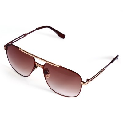 9092 UV-resistant Sunglasses with Metal Frame / PC Lens