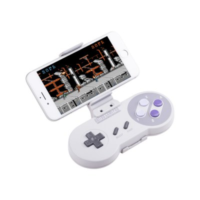 8Bitdo Xtander Mobile Phone Stand for SNES30 SFC30Game Accessories<br>8Bitdo Xtander Mobile Phone Stand for SNES30 SFC30<br><br>Brands: 8Bitdo<br>Game Accessories Type: Accessory Kits<br>Material: PC<br>Package Contents: 1 x Gamepad Clip, 1 x Phone Clip<br>Package size: 9.50 x 5.00 x 4.00 cm / 3.74 x 1.97 x 1.57 inches<br>Package weight: 0.063 kg<br>Product size: 11.50 x 3.60 x 9.20 cm / 4.53 x 1.42 x 3.62 inches<br>Product weight: 0.027 kg