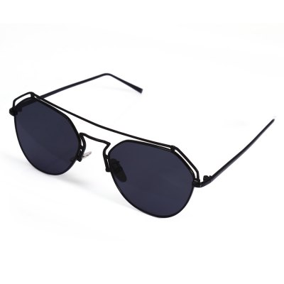 2102 UV-resistant Sunglasses with Metal Frame / PC Lens