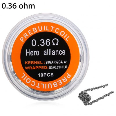 Alliance Kanthal A1 Hero Coil (10 pezzi)
