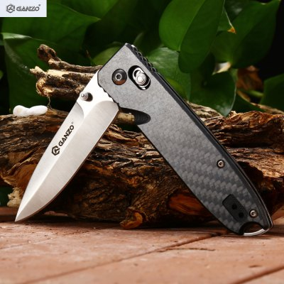 Ganzo G746 - 1 - CF Foldable Knife