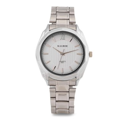 KALBOR 5001 Business Men Quartz WatchMens Watches<br>KALBOR 5001 Business Men Quartz Watch<br><br>Band material: Stainless Steel<br>Band size: 22 x 2 cm / 8.66 x 0.79 inches<br>Case material: Stainless Steel<br>Clasp type: Folding clasp with safety<br>Dial size: 4 x 4 x 1.2 cm / 1.57 x 1.57 x 0.47 inches<br>Display type: Analog<br>Movement type: Quartz watch<br>Package Contents: 1 x KALBOR 5001 Business Men Quartz Watch, 1 x Box<br>Package size (L x W x H): 8.50 x 8.00 x 6.00 cm / 3.35 x 3.15 x 2.36 inches<br>Package weight: 0.118 kg<br>Product size (L x W x H): 22.00 x 4.00 x 1.20 cm / 8.66 x 1.57 x 0.47 inches<br>Product weight: 0.084 kg<br>Shape of the dial: Round<br>Watch color: Black, White, Black + Gold, White + Gold<br>Watch style: Business<br>Watches categories: Male table<br>Water resistance : Life water resistant