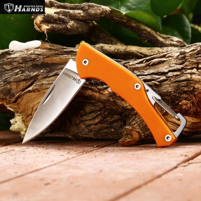 Harnds Lark CK1101OG Mini Foldable Knife with No LockPocket Knives and Folding Knives<br>Harnds Lark CK1101OG Mini Foldable Knife with No Lock<br><br>Blade Length: 5.5cm<br>Blade Length Range: 5cm-10cm<br>Blade Material: 8CR14Mov stainless steel<br>Blade Width : 1.5cm<br>Brand: HARNDS<br>Handle Material: G10<br>Lock Type: No lock<br>Package Contents: 1 x Harnds Lark CK1101OG Foldable Knife<br>Package size (L x W x H): 13.60 x 4.00 x 3.30 cm / 5.35 x 1.57 x 1.3 inches<br>Package weight: 0.080 kg<br>Product size (L x W x H): 13.00 x 2.20 x 0.70 cm / 5.12 x 0.87 x 0.28 inches<br>Product weight: 0.025 kg<br>Unfold Length: 13cm