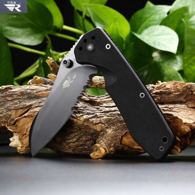 Sanrenmu GB4 - 913P Foldable Knife with Liner LockPocket Knives and Folding Knives<br>Sanrenmu GB4 - 913P Foldable Knife with Liner Lock<br><br>Blade Length: 8.5cm<br>Blade Length Range: 5cm-10cm<br>Blade Material: 8CR14Mov stainless steel<br>Blade Width : 3cm<br>Brand: Sanrenmu<br>Clip Length: 6cm<br>Color: Black<br>Handle Material: G10<br>Lock Type: Liner Lock<br>Package Contents: 1 x Sanrenmu GB4 - 913P Foldable Knife<br>Package size (L x W x H): 12.00 x 4.00 x 2.00 cm / 4.72 x 1.57 x 0.79 inches<br>Package weight: 0.180 kg<br>Product size (L x W x H): 19.50 x 3.00 x 1.80 cm / 7.68 x 1.18 x 0.71 inches<br>Product weight: 0.140 kg<br>Unfold Length: 19.5cm