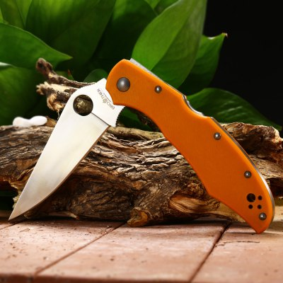 Brother 1605G Foldable KnifePocket Knives and Folding Knives<br>Brother 1605G Foldable Knife<br><br>Blade Length: 8.5cm<br>Blade Length Range: 5cm-10cm<br>Blade Material: 440C stainless steel<br>Blade Width : 3cm<br>Brand: Brother<br>Clip Length: 6.8cm<br>Handle Material: G10<br>Lock Type: Mid Lock<br>Package Contents: 1 x Brother 1605G Foldable Knife<br>Package size (L x W x H): 14.50 x 5.50 x 2.50 cm / 5.71 x 2.17 x 0.98 inches<br>Package weight: 0.178 kg<br>Product size (L x W x H): 21.80 x 3.50 x 1.00 cm / 8.58 x 1.38 x 0.39 inches<br>Product weight: 0.133 kg<br>Unfold Length: 21.8cm