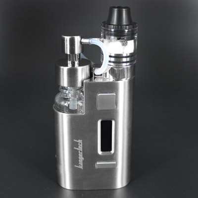 Original KangerTech DRIP EZ TC Mod KitMod kits<br>Original KangerTech DRIP EZ TC Mod Kit<br><br>APV Mod Wattage: 80W<br>APV Mod Wattage Range: 51-100W<br>Atomizer Capacity: 3.0ml<br>Atomizer Resistance: 0.3 ohm / 0.2 ohm<br>Atomizer Type: Clearomizer, Tank Atomizer<br>Available Color: Black,Silver<br>Battery Form Factor: 18650<br>Battery Quantity: 1pc ( not included )<br>Brand: Kanger<br>Connection Threading of Atomizer: 510<br>Connection Threading of Battery: 510<br>Material: Zinc Alloy, Stainless Steel, Glass<br>Mod Type: VV/VW Mod, Temperature Control Mod<br>Model: DRIP EZ<br>Package Contents: 1 x Kangertech DRIP EZ TC Box Mod, 1 x DRIP EZ Clearomizer ( Preinstalled 0.3 ohm Kanthal Coil ), 1 x Replacement 0.2 ohm Coil, 1 x Spare Juice Pump, 1 x Micro USB Cable<br>Package size (L x W x H): 12.50 x 9.50 x 4.00 cm / 4.92 x 3.74 x 1.57 inches<br>Package weight: 0.502 kg<br>Product size (L x W x H): 3.10 x 3.90 x 9.55 cm / 1.22 x 1.54 x 3.76 inches<br>Product weight: 0.270 kg<br>Temperature Control Range: 100 - 315 Deg.C / 200 - 600 Deg.F<br>Type: Mod Kit