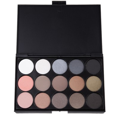 Natural 15 Colors Long Lasting Pearly Eyeshadow Palette