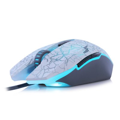 Dare - U Wrangler USB Wired Optical Gaming MouseMouse<br>Dare - U Wrangler USB Wired Optical Gaming Mouse<br><br>Brand: Dare-U<br>Type: Mouse<br>Features: Gaming<br>Color: White<br>Resolution: 1000DPI,1500DPI,2000DPI,3000DPI,4000DPI,500DPI<br>Interface: Wired<br>Connection: USB2.0<br>Power Supply: USB Port<br>Cable Length (m): 1.8 m<br>Product weight: 0.166 kg<br>Package weight: 0.424 kg<br>Product size (L x W x H): 13.06 x 7.16 x 4.30 cm / 5.14 x 2.82 x 1.69 inches<br>Package size (L x W x H): 19.50 x 14.50 x 5.50 cm / 7.68 x 5.71 x 2.17 inches<br>Package Contents: 1 x Dare - U Wrangler Wired Optical Gaming Mouse, 1 x Chinese Manual