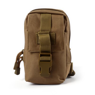 4.5L Water-resistant Nylon Sling Bag with Card Compartment