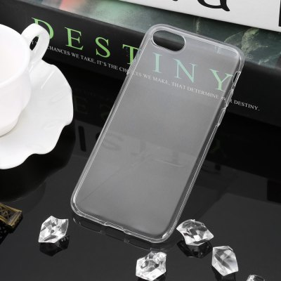 Ultra-thin Transparent TPU Protective Phone Case for iPhone 7