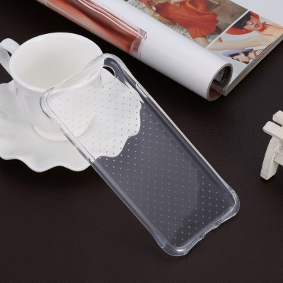 TPU Soft Protective Cover Case for iPhone 7 seamless dots protective tpu cover for iphone 7 4 7 transparent white