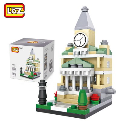 LOZ Street View Architecture ABS Cartoon Building Brick
