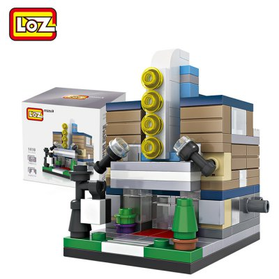 LOZ Theater Architecture ABS Cartoon Building Brick