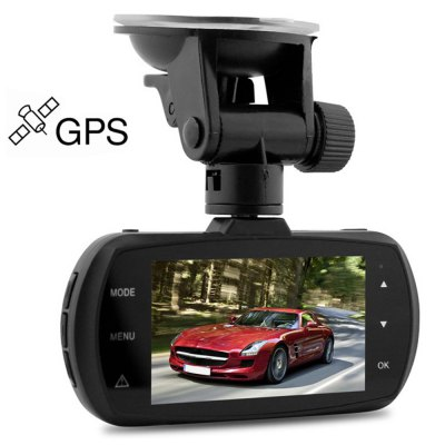 Dome D201-1 2.7 inches LCD 1440P 170 Degree Wide Angle Car DVR