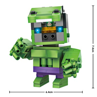 LOZ Figure Style ABS Cartoon Building BrickBlock Toys<br>LOZ Figure Style ABS Cartoon Building Brick<br><br>Age: 14 Years+<br>Applicable gender: Unisex<br>Brand: LOZ<br>Design Style: Cartoon, Figure Statue<br>Features: DIY<br>Material: ABS<br>Package Contents: 163 x Module<br>Package size (L x W x H): 8.50 x 8.50 x 8.50 cm / 3.35 x 3.35 x 3.35 inches<br>Package weight: 0.0800 kg<br>Product size (L x W x H): 6.40 x 4.20 x 7.40 cm / 2.52 x 1.65 x 2.91 inches<br>Puzzle Style: 3D Puzzle<br>Small Parts : Yes<br>Type: Building Blocks<br>Washing: Yes