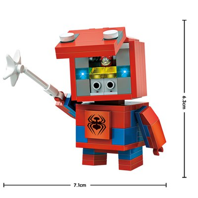 LOZ Figure Style ABS Cartoon Building BrickBlock Toys<br>LOZ Figure Style ABS Cartoon Building Brick<br><br>Age: 14 Years+<br>Applicable gender: Unisex<br>Brand: LOZ<br>Design Style: Cartoon, Figure Statue<br>Features: DIY<br>Material: ABS<br>Package Contents: 145 x Module<br>Package size (L x W x H): 8.50 x 8.50 x 8.50 cm / 3.35 x 3.35 x 3.35 inches<br>Package weight: 0.0800 kg<br>Product size (L x W x H): 7.10 x 4.20 x 6.30 cm / 2.8 x 1.65 x 2.48 inches<br>Puzzle Style: 3D Puzzle<br>Small Parts : Yes<br>Type: Building Blocks<br>Washing: Yes