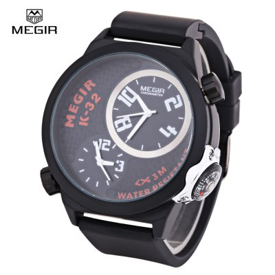 MEGIR 2003 Dual Movt Male Quartz Watch