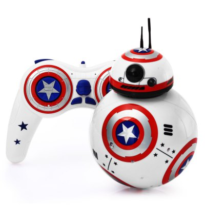 2.4G Remote Control Spherical Robot with Light / Sound