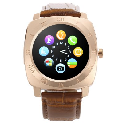 Iradish X3 Smartwatch PhoneSmart Watch Phone<br>Iradish X3 Smartwatch Phone<br><br>Brand: Iradish<br>Type: Watch Phone<br>CPU: MTK6261<br>RAM: 32MB<br>ROM: 32MB<br>External Memory: TF card up to 32GB (not included)<br>Compatible OS: Android<br>Wireless Connectivity: Bluetooth,GSM<br>Network type: GSM<br>Frequency: GSM850/900/1800/1900MHz<br>Bluetooth: Yes<br>Bluetooth version: 2.0<br>Screen type: Capacitive,IPS<br>Screen size: 1.33 inch<br>IPS: Yes<br>Screen resolution: 240 x 240<br>Camera type: Single camera<br>Back-camera: 0.07MP<br>SIM Card Slot: Single SIM(Micro SIM slot)<br>TF card slot: Yes<br>Micro USB Slot: Yes<br>Speaker: Supported<br>Picture format: JPEG<br>Music format: MP3,WAV<br>Languages: English, German, French, Spanish, Portugese, Turkish, Russian, Italian,<br>Additional Features: 2G,Alarm,Bluetooth,Calendar,MP3,People,Sound Recorder<br>Functions: Anti-lost alert,Message,Pedometer,Remote Camera,Sedentary reminder,Sleep monitoring<br>Cell Phone: 1<br>Battery: 1 x 300mAh<br>USB Cable: 1<br>User Manual: 1<br>Product size: 4.40 x 4.40 x 1.40 cm / 1.73 x 1.73 x 0.55 inches<br>Package size: 10.50 x 10.50 x 9.00 cm / 4.13 x 4.13 x 3.54 inches<br>Product weight: 0.053 kg<br>Package weight: 0.238 kg