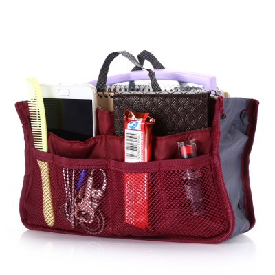 Multifunctional Double-zipper Storage Bag Organizer