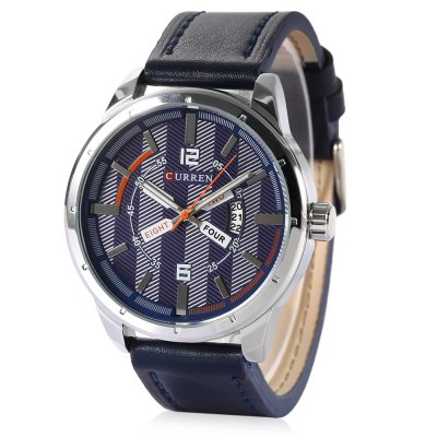CURREN 8211 Casual Men Quartz Watch