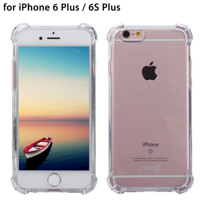 WXD Transparent TPU Case Screen Film for iPhone 6 Plus / 6S Plus