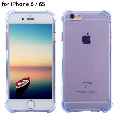 WXD Transparent TPU Case Screen Film for iPhone 6 / 6S