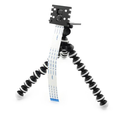 Camera Mount + Tripod Support for Raspberry Pi